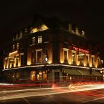 The Bedford in Balham at night