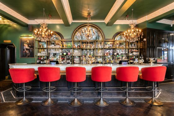 The Saloon Bar at The Bedford in Balham Johnny Stephens