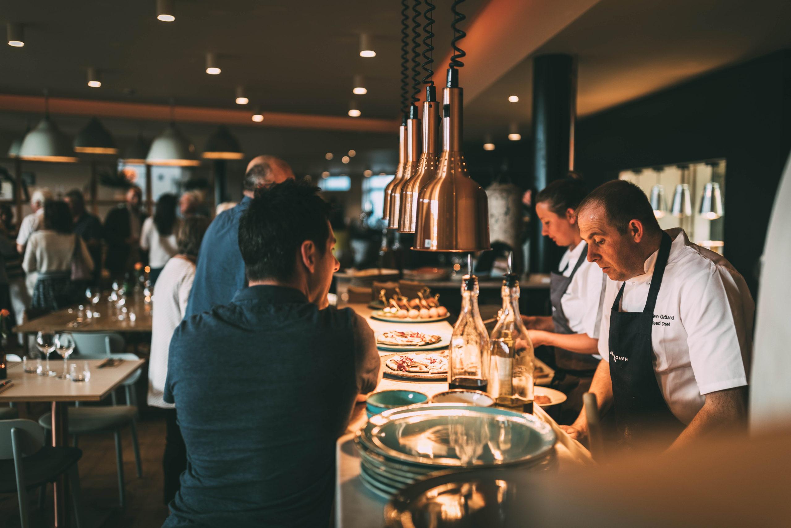 Glenn Gatland, head chef at Una Kitchen