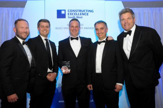 South West Built Environment Awards 2019 SME of the Year: Gilbert & Goode. Rachel Matthew