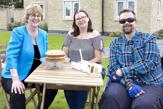 Ocean Housing opens its new development in Bodmin, MPG Books. Teresa Appleton