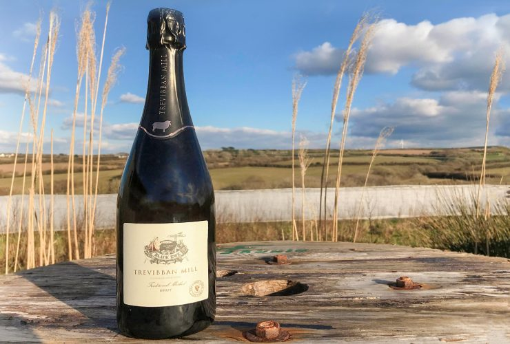 Trevibban Mill Blanc de Blancs sparkling wine Trevibban Mill