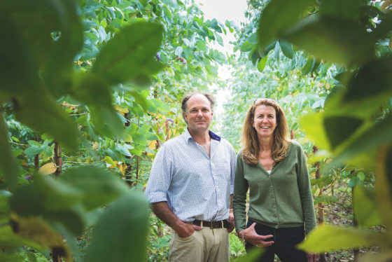 Hugh and Tina Davis of Wildwood. James Ram