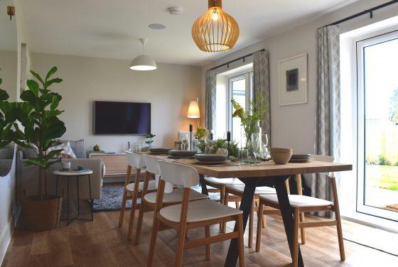 Modern lounge-diner