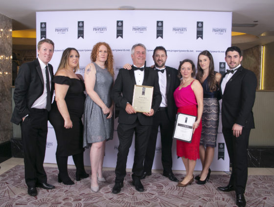 The Legacy Properties team at the UK Property Awards 2019. Chris Sharp Photography