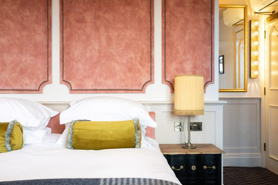 Individually designed bedrooms at The Bedford Ben Carpenter