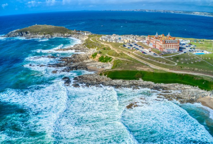 PR for The Headland Hotel, Cornwall