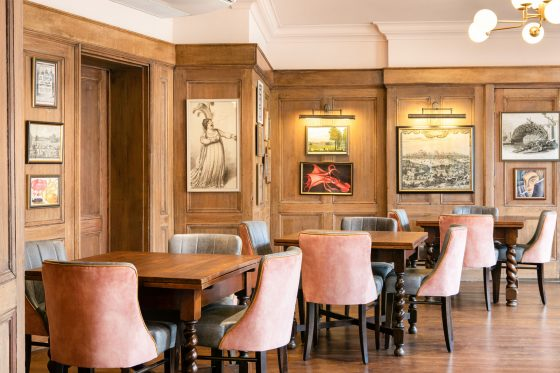 The cocktail bar at The Bedford Johnny Stephens
