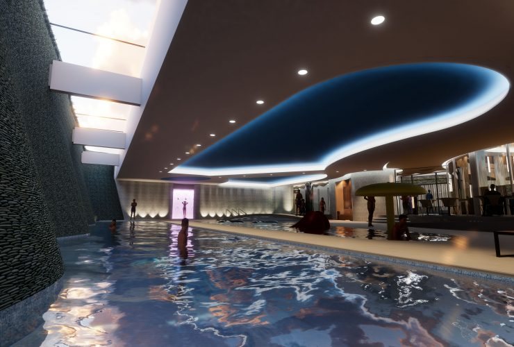 The Aqua Club swimming pool
