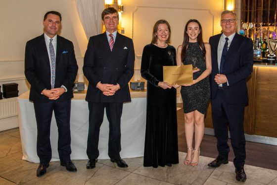 Hannah Dougherty wins Unsung Hero of the Year award