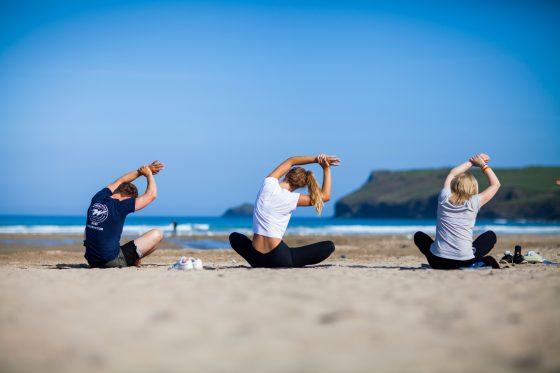 Yoga lessons at Porthilly Spirit. Porthilly Spirit