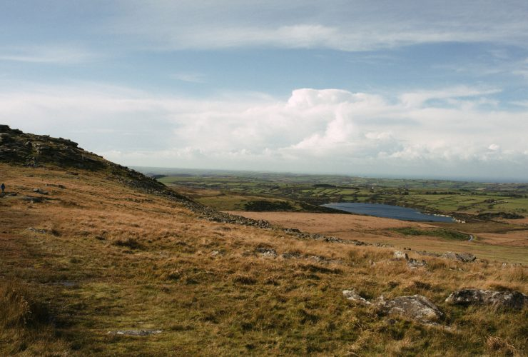 View from the top of Rough Tor on Bodmin Moor