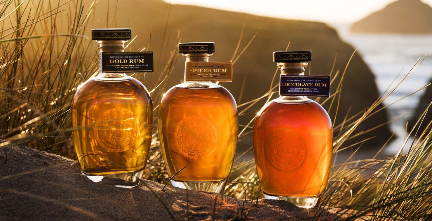 Rosemullion Distillery coastal rum collection