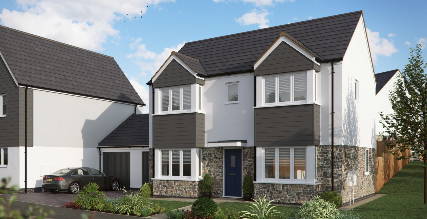 New homes in Hayle being built by Gilbert & Goode